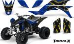 Yamaha YFZ 450 03 08 CreatorX Graphics Kit TribalX Yellow Blue 150x90 - Yamaha YFZ 450 2004-2013 Graphics