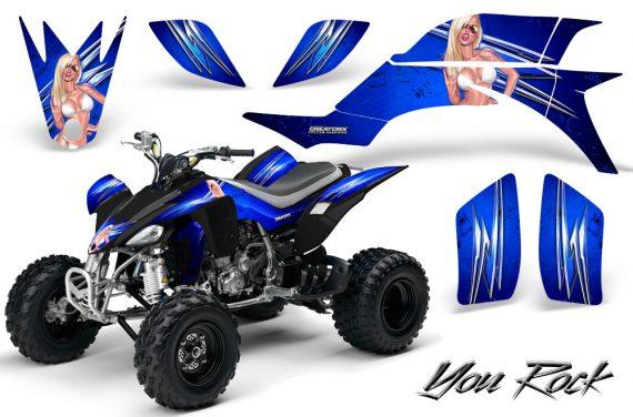 Yamaha YFZ 450 03 08 CreatorX Graphics Kit You Rock Blue 570x376 - Yamaha YFZ 450 2004-2013 Graphics