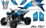 Yamaha YFZ 450 03 08 CreatorX Graphics Kit You Rock BlueIce 150x90 - Yamaha YFZ 450 2004-2013 Graphics