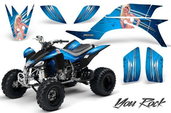 Yamaha YFZ 450 03 08 CreatorX Graphics Kit You Rock BlueIce 570x376 - Yamaha YFZ 450 2004-2013 Graphics