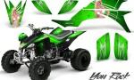 Yamaha YFZ 450 03 08 CreatorX Graphics Kit You Rock Green 150x90 - Yamaha YFZ 450 2004-2013 Graphics