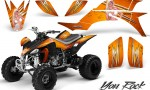 Yamaha YFZ 450 03 08 CreatorX Graphics Kit You Rock Orange BB 150x90 - Yamaha YFZ 450 2004-2013 Graphics