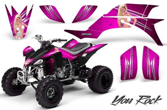 Yamaha YFZ 450 03 08 CreatorX Graphics Kit You Rock Pink 570x376 - Yamaha YFZ 450 2004-2013 Graphics