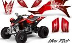Yamaha YFZ 450 03 08 CreatorX Graphics Kit You Rock Red BB 150x90 - Yamaha YFZ 450 2004-2013 Graphics