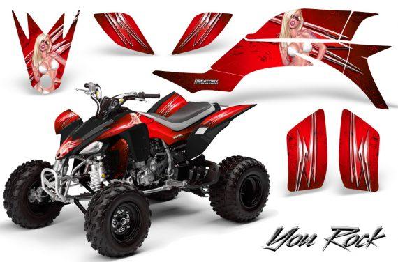 Yamaha YFZ 450 03 08 CreatorX Graphics Kit You Rock Red BB 570x376 - Yamaha YFZ 450 2004-2013 Graphics
