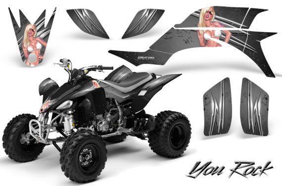 Yamaha YFZ 450 03 08 CreatorX Graphics Kit You Rock Silver BB 570x376 - Yamaha YFZ 450 2004-2013 Graphics