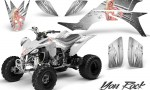 Yamaha YFZ 450 03 08 CreatorX Graphics Kit You Rock White 150x90 - Yamaha YFZ 450 2004-2013 Graphics