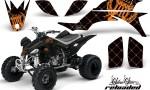 Yamaha YFZ450 04 08 AMR Graphics Reloaded OrangeBlackBG 150x90 - Yamaha YFZ 450 2004-2013 Graphics
