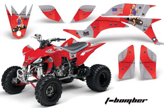 Yamaha YFZ450 04 08 AMR Graphics TBomber Red 570x376 - Yamaha YFZ 450 2004-2013 Graphics