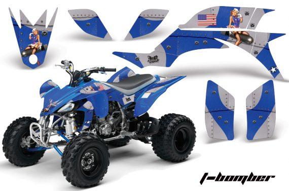 Yamaha YFZ450 04 08 AMR Graphics TBomber blue 570x376 - Yamaha YFZ 450 2004-2013 Graphics