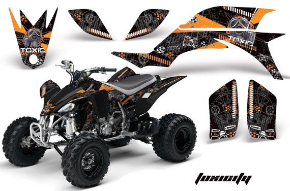 Yamaha YFZ450 04 08 AMR Graphics Toxicity orange 570x376 - Yamaha YFZ 450 2004-2013 Graphics