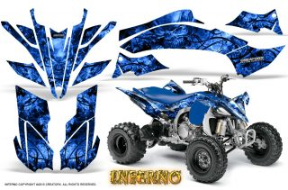 Yamaha YFZ450 09 12 CreatorX Graphics Kit Inferno Blue 320x211 - Yamaha YFZ 450R/SE 2009-2013 Graphics