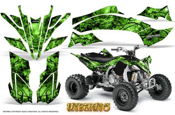 Yamaha YFZ450 09 12 CreatorX Graphics Kit Inferno Green 570x376 - Yamaha YFZ 450R/SE 2009-2013 Graphics