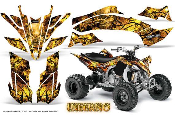 Yamaha YFZ450 09 12 CreatorX Graphics Kit Inferno Yellow 570x376 - Yamaha YFZ 450R/SE 2009-2013 Graphics