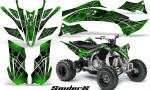 Yamaha YFZ450 09 12 CreatorX Graphics Kit SpiderX Green 150x90 - Yamaha YFZ 450R/SE 2009-2013 Graphics
