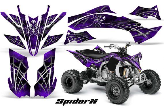 Yamaha YFZ450 09 12 CreatorX Graphics Kit SpiderX Purple 570x376 - Yamaha YFZ 450R/SE 2009-2013 Graphics