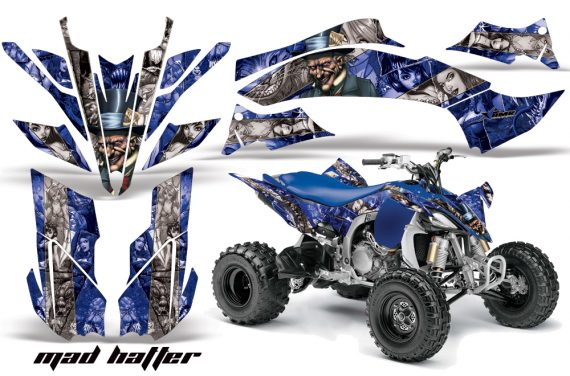 Yamaha YFZ450 2009 AMR Graphics MadHatter BlueSilverstripe 570x376 - Yamaha YFZ 450R/SE 2009-2013 Graphics