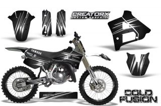 Yamaha YZ125 91 92 CreatorX Graphics Kit Cold Fusion Black NP Rims 320x211 - Yamaha YZ125 2 Stroke 1991-1992 Graphics