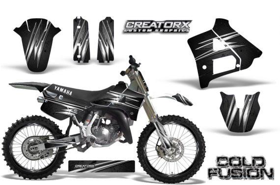 Yamaha YZ125 91 92 CreatorX Graphics Kit Cold Fusion Black NP Rims 570x376 - Yamaha YZ125 2 Stroke 1991-1992 Graphics