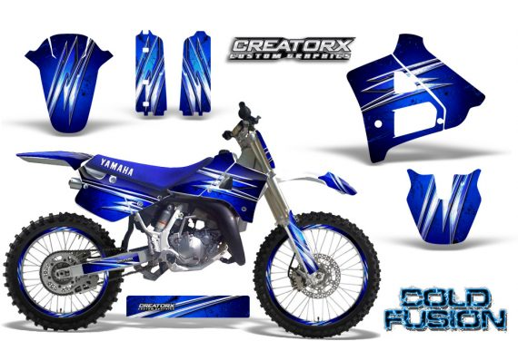 Yamaha YZ125 91 92 CreatorX Graphics Kit Cold Fusion Blue NP Rims 570x376 - Yamaha YZ125 2 Stroke 1991-1992 Graphics