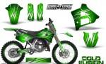 Yamaha YZ125 91 92 CreatorX Graphics Kit Cold Fusion Green NP Rims 150x90 - Yamaha YZ125 2 Stroke 1991-1992 Graphics