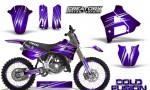 Yamaha YZ125 91 92 CreatorX Graphics Kit Cold Fusion Purple NP Rims 150x90 - Yamaha YZ125 2 Stroke 1991-1992 Graphics