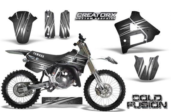 Yamaha YZ125 91 92 CreatorX Graphics Kit Cold Fusion Silver NP Rims 570x376 - Yamaha YZ125 2 Stroke 1991-1992 Graphics