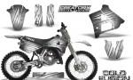 Yamaha YZ125 91 92 CreatorX Graphics Kit Cold Fusion White NP Rims 150x90 - Yamaha YZ125 2 Stroke 1991-1992 Graphics