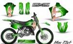 Yamaha YZ125 91 92 CreatorX Graphics Kit You Rock Green NP Rims 150x90 - Yamaha YZ125 2 Stroke 1991-1992 Graphics