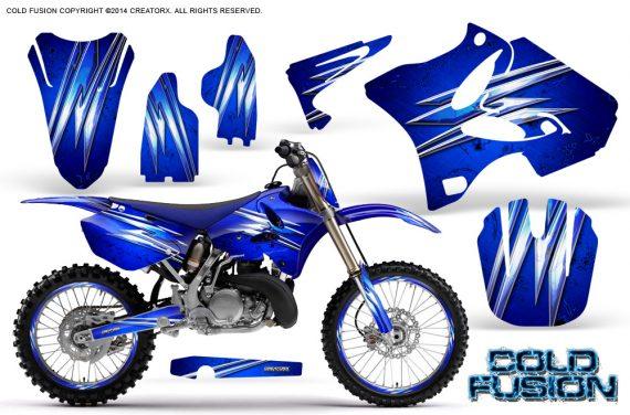 Yamaha YZ125 YZ250 02 12 CreatorX Graphics Kit Cold Fusion Blue NP Rims 570x376 - Yamaha YZ125 YZ250 2 Stroke 2002-2014 Graphics