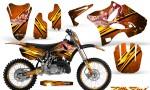 Yamaha YZ125 YZ250 02 12 CreatorX Graphics Kit Little Sins Orange NP Rims 150x90 - Yamaha YZ125 YZ250 2 Stroke 2002-2014 Graphics