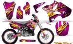 Yamaha YZ125 YZ250 02 12 CreatorX Graphics Kit Little Sins Pink NP Rims 150x90 - Yamaha YZ125 YZ250 2 Stroke 2002-2014 Graphics