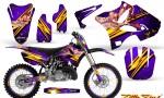 Yamaha YZ125 YZ250 02 12 CreatorX Graphics Kit Little Sins Purple NP Rims 150x90 - Yamaha YZ125 YZ250 2 Stroke 2002-2014 Graphics