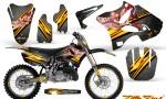 Yamaha YZ125 YZ250 02 12 CreatorX Graphics Kit Little Sins Silver NP Rims 150x90 - Yamaha YZ125 YZ250 2 Stroke 2002-2014 Graphics