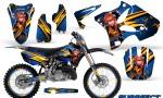 Yamaha YZ125 YZ250 02 12 CreatorX Graphics Kit Purrfect Blue BB NP Rims 150x90 - Yamaha YZ125 YZ250 2 Stroke 2002-2014 Graphics