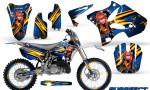 Yamaha YZ125 YZ250 02 12 CreatorX Graphics Kit Purrfect Blue WB NP Rims 150x90 - Yamaha YZ125 YZ250 2 Stroke 2002-2014 Graphics