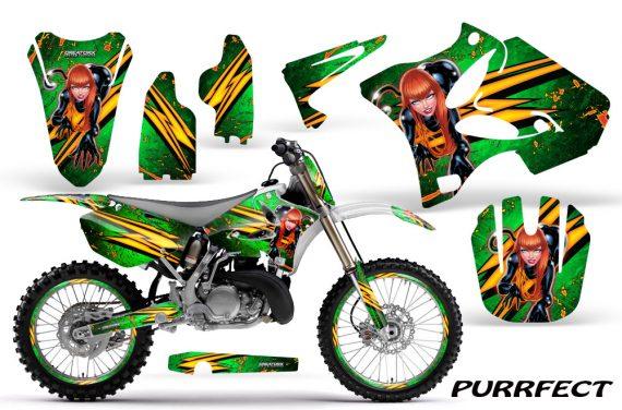 Yamaha YZ125 YZ250 02 12 CreatorX Graphics Kit Purrfect Green NP Rims 570x376 - Yamaha YZ125 YZ250 2 Stroke 2002-2014 Graphics
