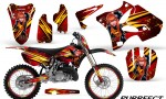 Yamaha YZ125 YZ250 02 12 CreatorX Graphics Kit Purrfect Red NP Rims 150x90 - Yamaha YZ125 YZ250 2 Stroke 2002-2014 Graphics
