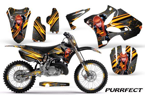 Yamaha YZ125 YZ250 02 12 CreatorX Graphics Kit Purrfect Silver NP Rims 570x376 - Yamaha YZ125 YZ250 2 Stroke 2002-2014 Graphics