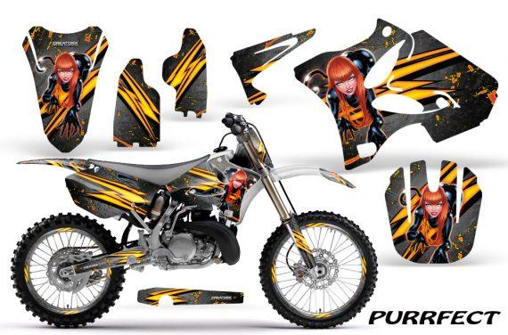 Yamaha YZ125 YZ250 02 12 CreatorX Graphics Kit Purrfect Silver WB NP Rims 570x376 - Yamaha YZ125 YZ250 2 Stroke 2002-2014 Graphics