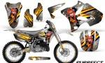Yamaha YZ125 YZ250 02 12 CreatorX Graphics Kit Purrfect White NP Rims 150x90 - Yamaha YZ125 YZ250 2 Stroke 2002-2014 Graphics