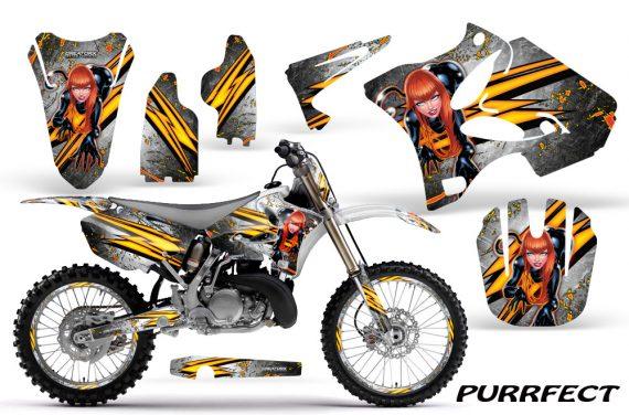 Yamaha YZ125 YZ250 02 12 CreatorX Graphics Kit Purrfect White NP Rims 570x376 - Yamaha YZ125 YZ250 2 Stroke 2002-2014 Graphics