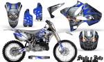 Yamaha YZ125 YZ250 02 12 CreatorX Graphics Kit Skulls n Bolts Solid Blue White NP Rims 150x90 - Yamaha YZ125 YZ250 2 Stroke 2002-2014 Graphics