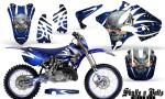 Yamaha YZ125 YZ250 02 12 CreatorX Graphics Kit Skulls n Bolts Solid White Blue NP Rims 150x90 - Yamaha YZ125 YZ250 2 Stroke 2002-2014 Graphics