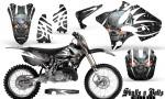 Yamaha YZ125 YZ250 02 12 CreatorX Graphics Kit Skulls n Bolts Solid White Silver NP Rims 150x90 - Yamaha YZ125 YZ250 2 Stroke 2002-2014 Graphics
