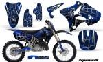 Yamaha YZ125 YZ250 02 12 CreatorX Graphics Kit SpiderX Blue BB NP Rims 150x90 - Yamaha YZ125 YZ250 2 Stroke 2002-2014 Graphics