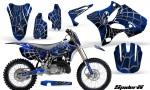 Yamaha YZ125 YZ250 02 12 CreatorX Graphics Kit SpiderX Blue WB NP Rims 150x90 - Yamaha YZ125 YZ250 2 Stroke 2002-2014 Graphics