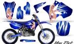 Yamaha YZ125 YZ250 02 12 CreatorX Graphics Kit You Rock Blue NP Rims 150x90 - Yamaha YZ125 YZ250 2 Stroke 2002-2014 Graphics