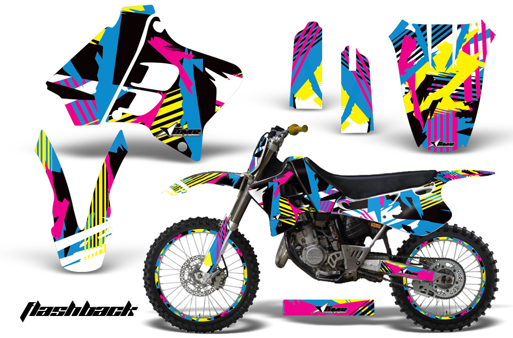 Yamaha YZ125 YZ250 93 95 AMR Graphics Kit FB NPs yamaha yz125 yz250 2 stroke 1993 1995 graphics creatorx graphics 1992 Yz 250 at bayanpartner.co