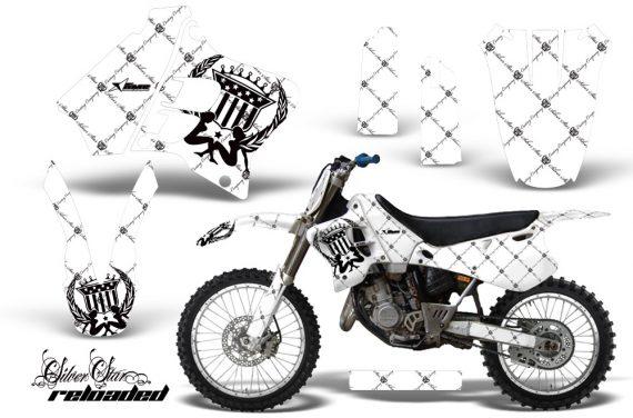 Yamaha YZ125 YZ250 93 95 AMR Graphics Kit SSR BW NPs 570x376 - Yamaha YZ125 YZ250 2 Stroke 1993-1995 Graphics